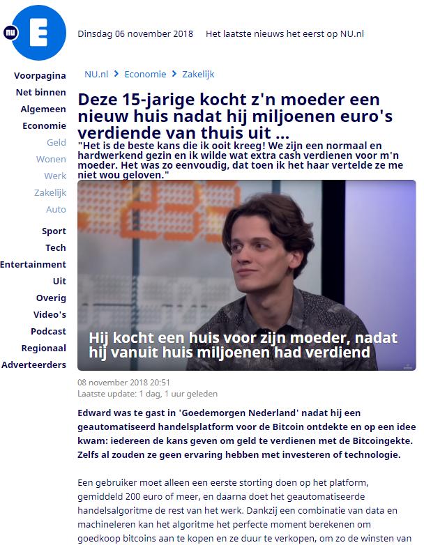 Bitcoin-oplichters verdienen tonnen aan Nederlandse slachtoffers